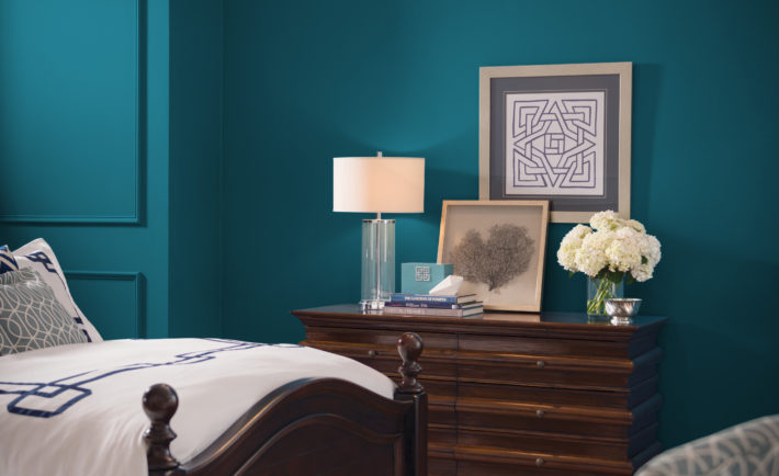 Using oceanside in your home decor sherwin williams 2018 Master bedroom colors for 2018